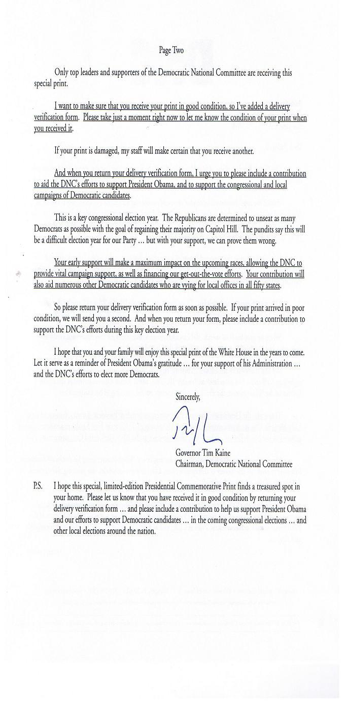 DNC - Letter Page 2