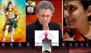 Joan Halifax Roshi - Founder Upaya Zen Center. Recipient Vishwa Kalyaan Award. 2015