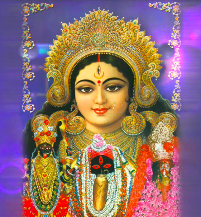 Gorgeous Durga